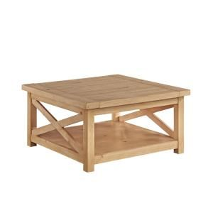Home Styles Country Lodge Pine Coffee Table-5524-21 - The Home Depot