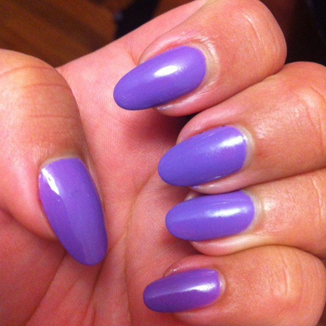 OPI's 'A grape fit!' on my nails!