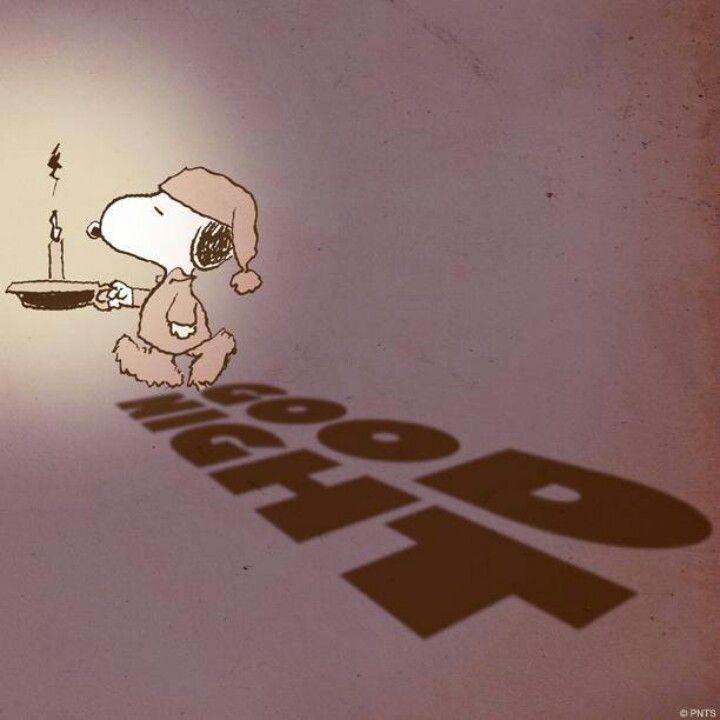 Buenas noches • Good night _Snoopy