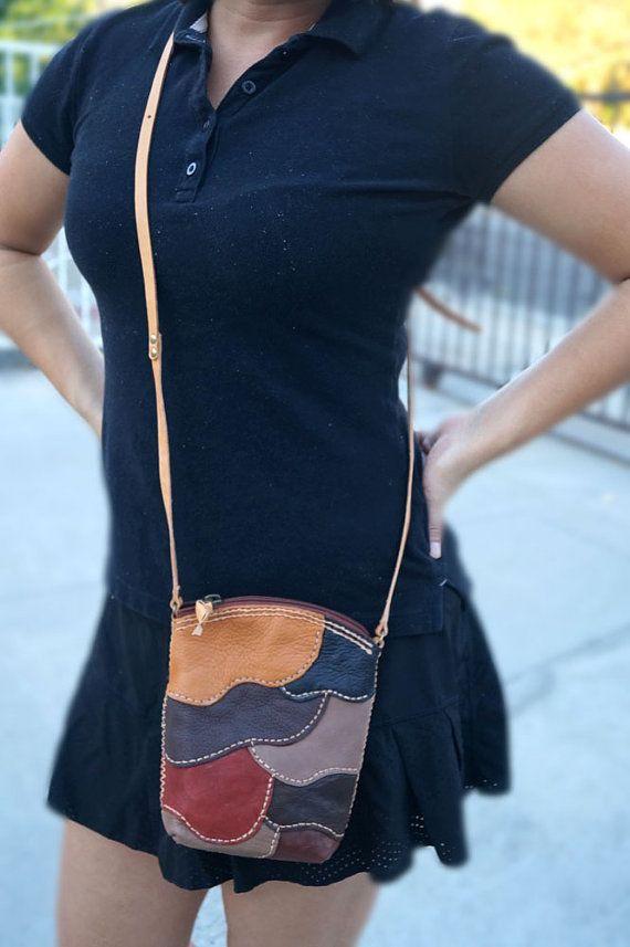 Mini sac à bandoulière en cuir, Sac à bandoulière en cuir mouton, Sac à bandoulière en cuir, Sac à bandoulière pour femme, Petit sac en cuir, Sac en cuir bohème