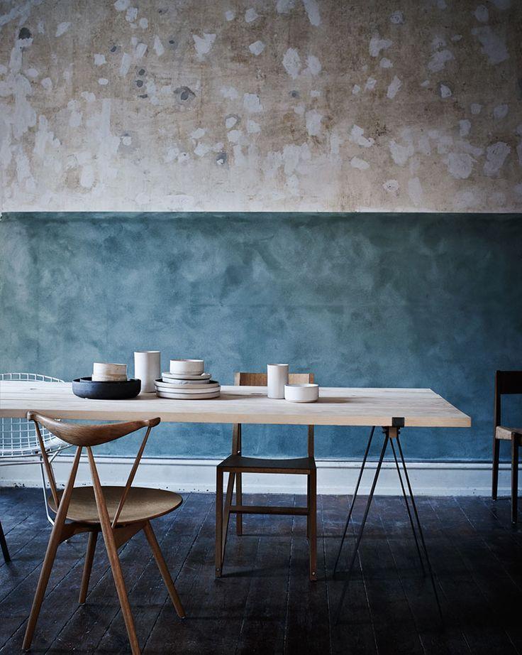 The home of Niels Strøyer Christophersen #diningtable