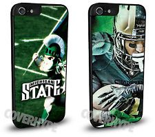 Michigan State Spartans Protective Cell Phone Case TWO PACK for iPhone 6