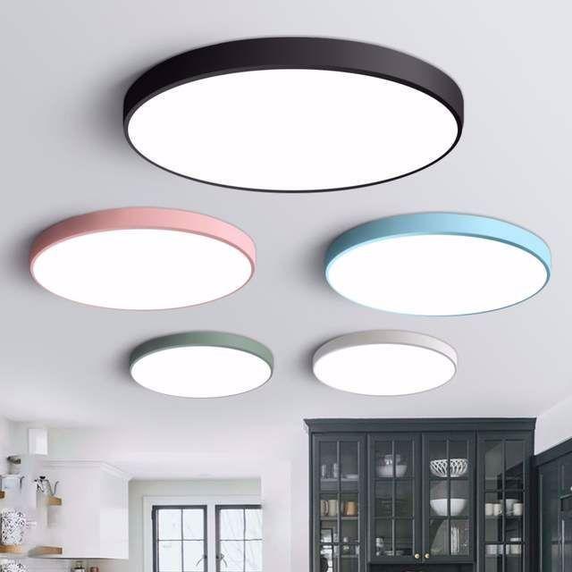 Led Deckenleuchte Moderne Lampe Wohnzimmer Beleuchtung Leuchte