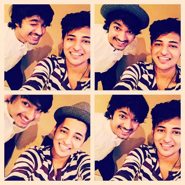 The cute mohit ,we always have fun while recording and he keeps on talking