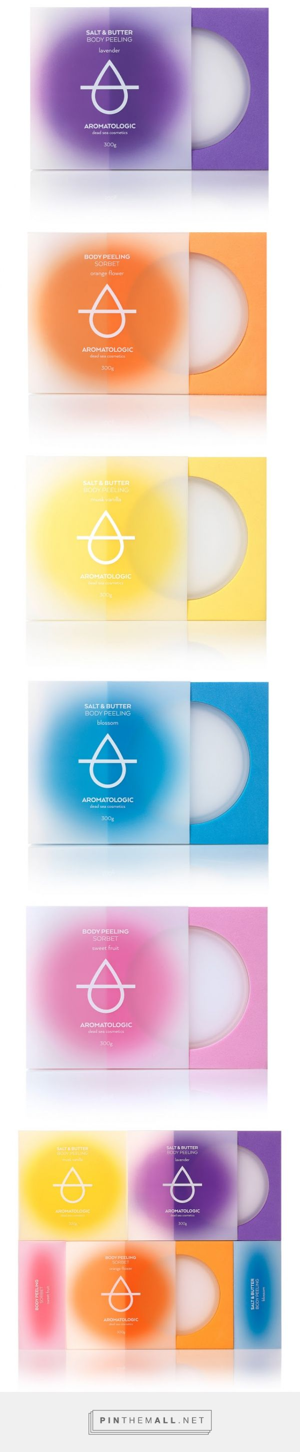 Aromatologic Spa #Cosmetics #packaging designed by Mousegraphics​ - http://www.packagingoftheworld.com/2015/06/aromatologic-spa-cosmetics.html