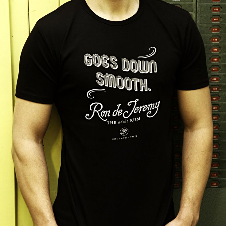 Ron knows how to do it 😉 . . . . . . . . . . . . . . . . .  #GoesDownSmooth #rondejeremy #tees #fashion #men #mensfashion #ronjeremyrum #smooth #clothing #rum #ron #mensclothing #drink #funfact #rondejeremyrum #beastar #theadultrum #rumtales