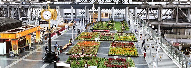 フラワー アート ミュージアム 2015 | 大阪ステーションシティ