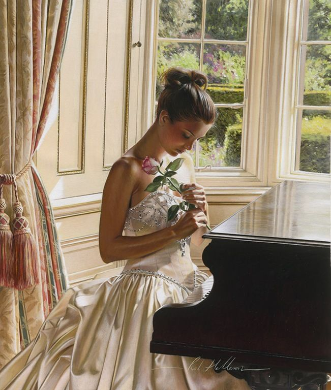 Artist Rob Hefferan. Painting, not a photo.  I want to paint like this<3