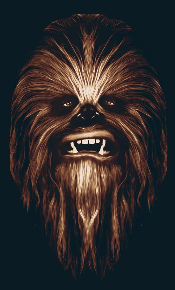 Baby Chewbacca 430356 - WallDevil