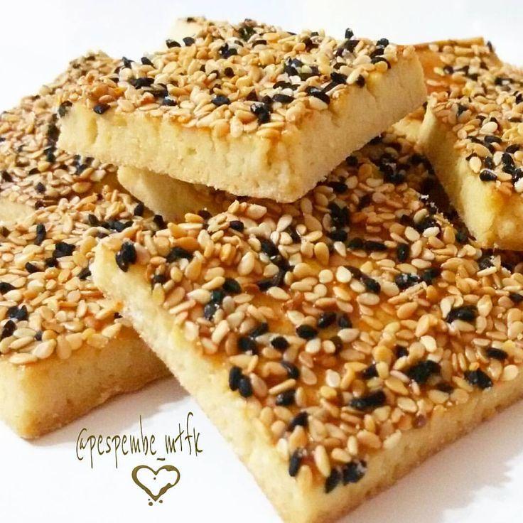 👉Tuzlu Susamlı Çörek Otlu Kurabiye 🎀Malzemele