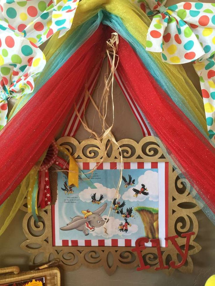 Dumbo circus Birthday Party Ideas | Photo 14 of 21