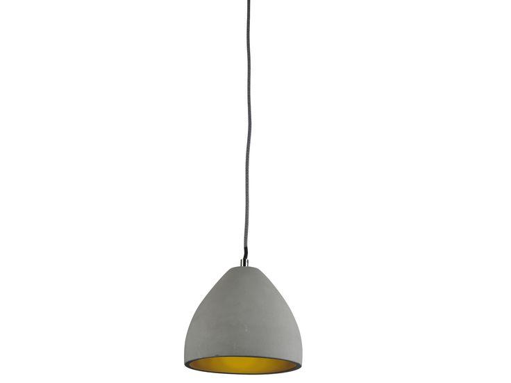 Luminite Concrete Dome Pendant Lamp | Temple & Webster