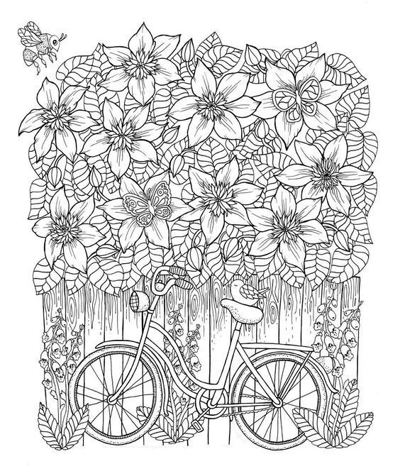 Maria Trolle Bike | Crayola coloring pages, Christmas ...