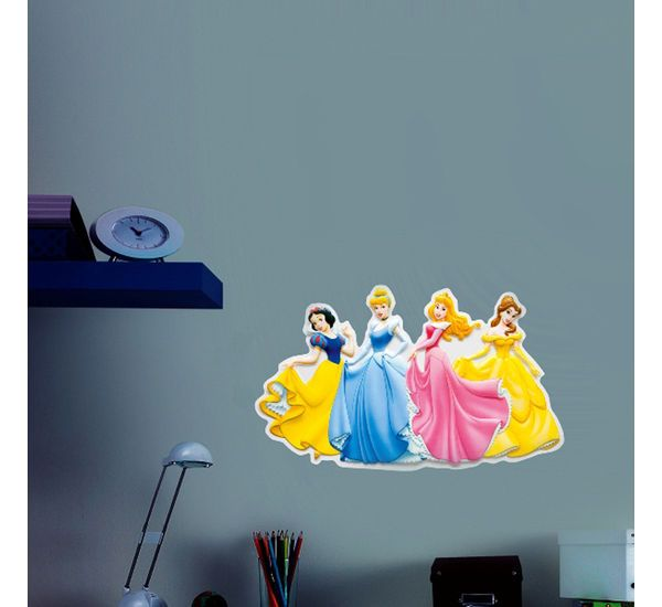 Princes themed Wall Stickers!