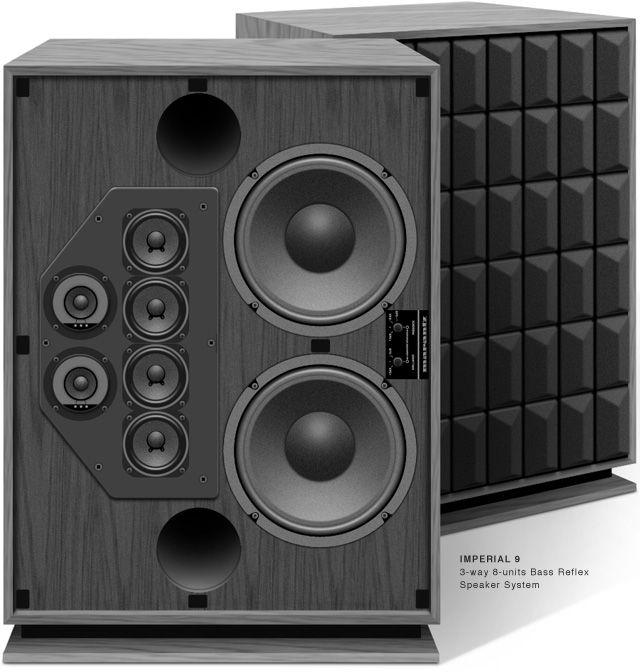 Lovely 3 Way Speaker Cabinet
