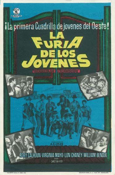 """La furia de los jóvenes (1964) """"Young Fury"""" de Christian Nyby - tt0059932"""