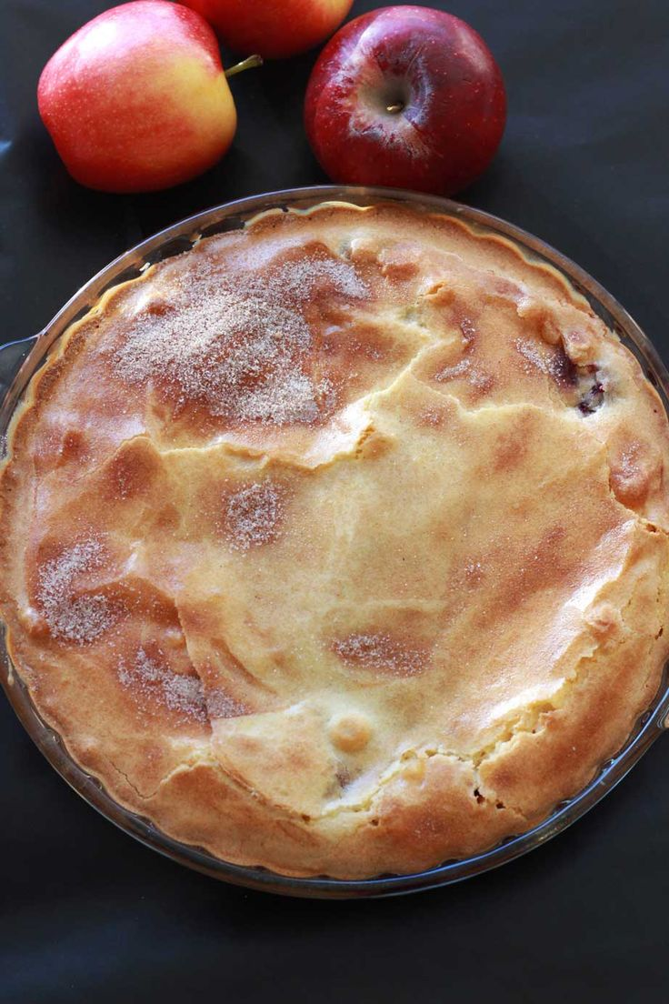 Cherry Apple Cake | Recipes Worth Repeating | http://recipesworthrepeating.com/recipes/desserts/cherry-and-apple-cake/