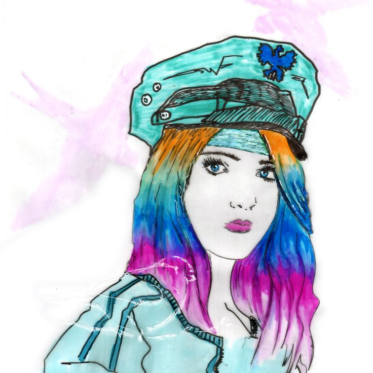 Rainbow Soldier #illustration #delastella