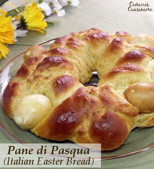 This light and eggy Italian Easter Bread is slightly sweet and ...