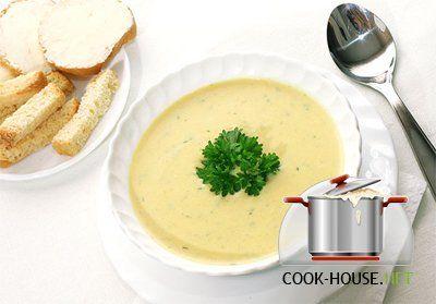 Кабачковый суп-пюре с шампиньонами