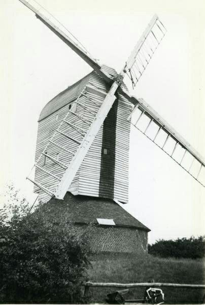 "Another unusual windmill was Moreton post mill in Essex, known as a ""six footer"" it had three cross trees and six quarter bars supporting the main post, rather than the usual two and four, similar mills could be found in the Chilterns, of which Chinnor post mill, Oxfordshire has recently been restored. Moreton mill, although preserved, was sadly allowed to fall into disrepair and was demolished in the 1960s."