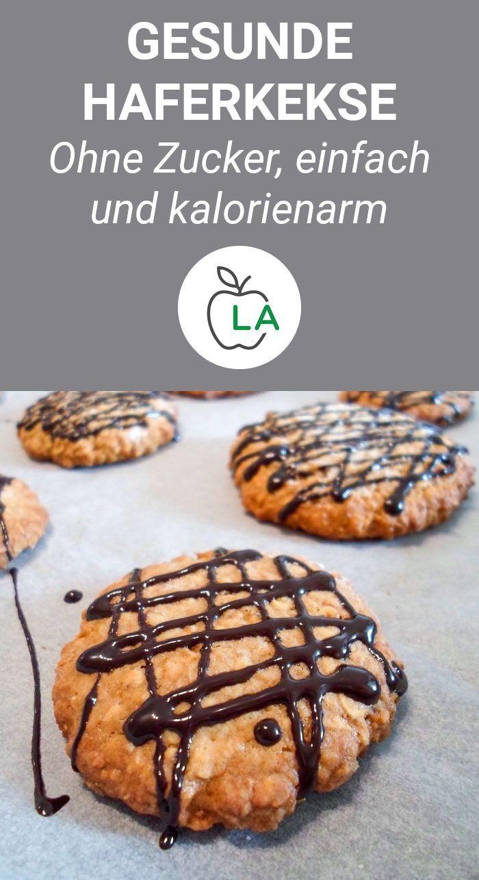 Gesunde Haferflockenkekse – Fitness Kekse zum Abnehmen