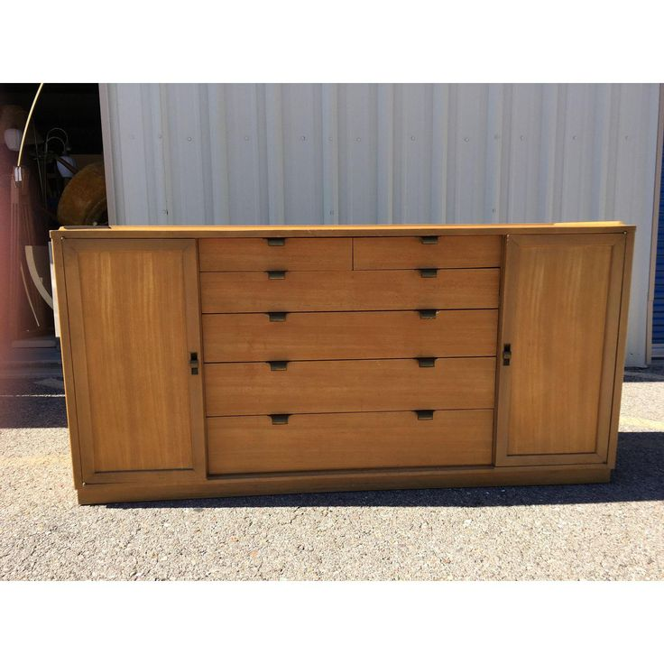 Drexel Precedent Credenza Buffet by Ed Wormley - Image 2 of 11