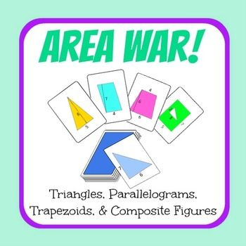 ***FLASH FREEBIE! Just leave some kind words in the comment section. Thanks!***This is the best Area War card game available on TpT! You get 64 cards!This product is the best, because of the variety of area illustrations available for you, all in printable sheets.