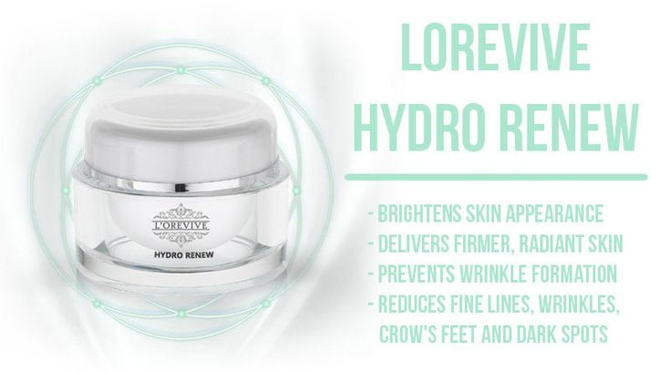 Lorevive Hydro Renew Review AntiAging Formula that Works