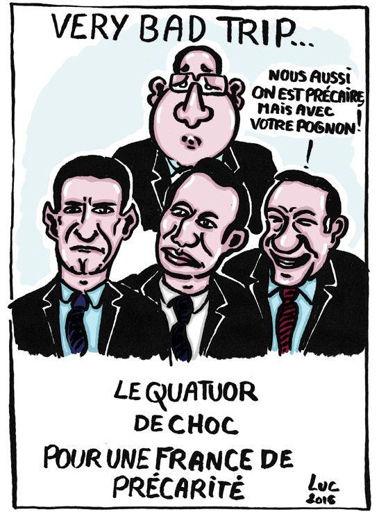 #precarite #gouvernement #politique #Macron #Valls #Hollande #Gattaz #sansfoiniloi #escrocs