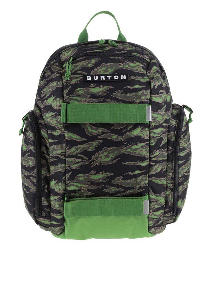 Rucsac negru cu verde Burton MetalHead pentru băieți #magazindefashion