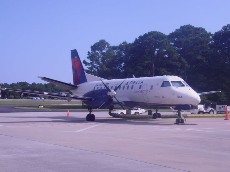 Saab 340 back when Delta Connection had service to Hilton Head