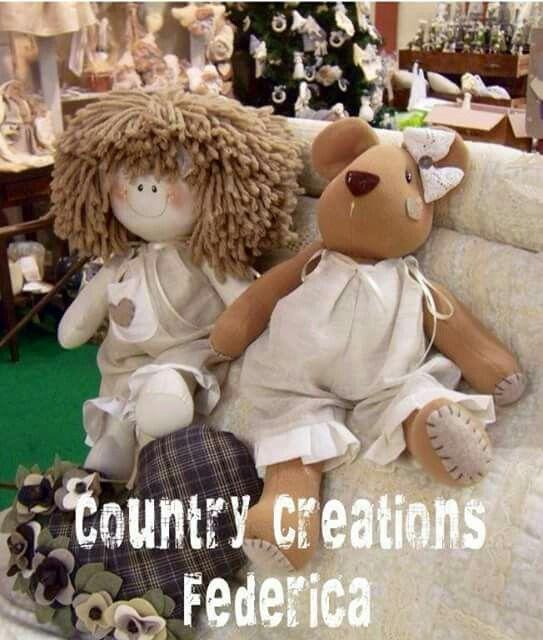 Boneca e ursinho