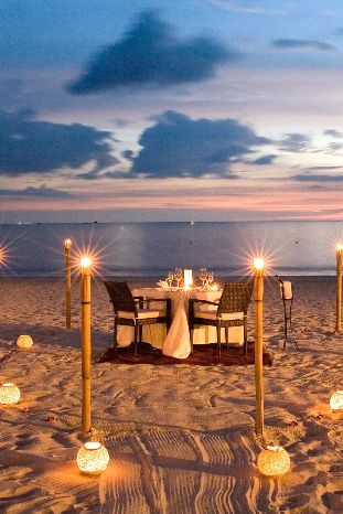 Best Romantic Dining On The Beach Images On Pinterest