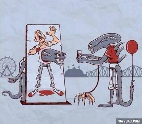 The funniest Alien art I've seen so far