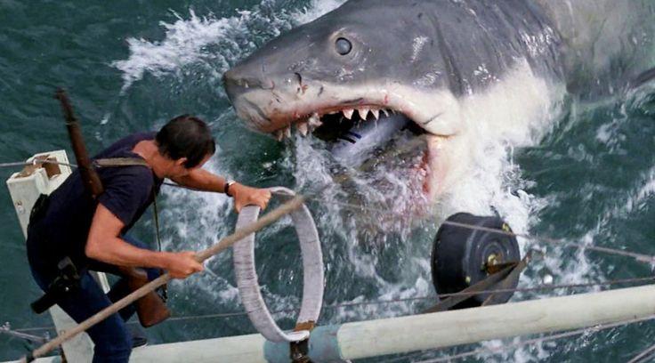 Из всех 50 фильмов, что снял Спилберг к этому времени, «Челюсти», пожалуй, лучше всех показывают его талант режиссера-постановщика. Когда механическая акула не работала так, как ей было положено работать, Стивен Спилберг абсолютно случайно изобрел операторский прием (вместе с Биллом Батлером), когда с объекты на заднем плане приближаются,