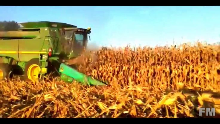 Corn Harvest in Missouri, AS 2016. !FM!.