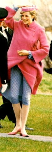 April 7, 1982: Princess Diana arrives by helicopter to open a new Sony factory in Bridgend, Mid-Glamorgan.