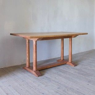 A Heal & Sons Oak Dining Table c.1922