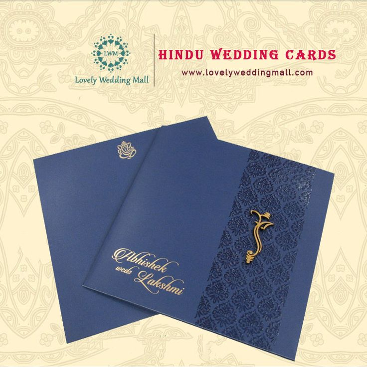 Lovely Wedding Mall offers you innovative & exclusive design of Hindu wedding invitations by the best designer for celebration of unique event with a colorful pattern. #HinduWeddingInvitations