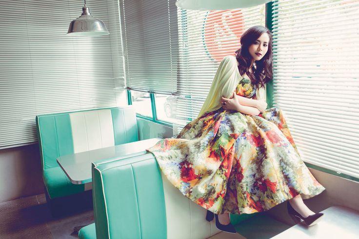 Gita Gutawa for Elle Indonesia, Jul 2014