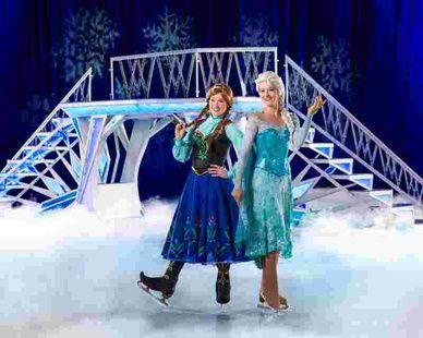 Elsa in echt: Disney on ice in Oberhausen  9.-12.03., König-Pilsener-Arena, Oberhausen