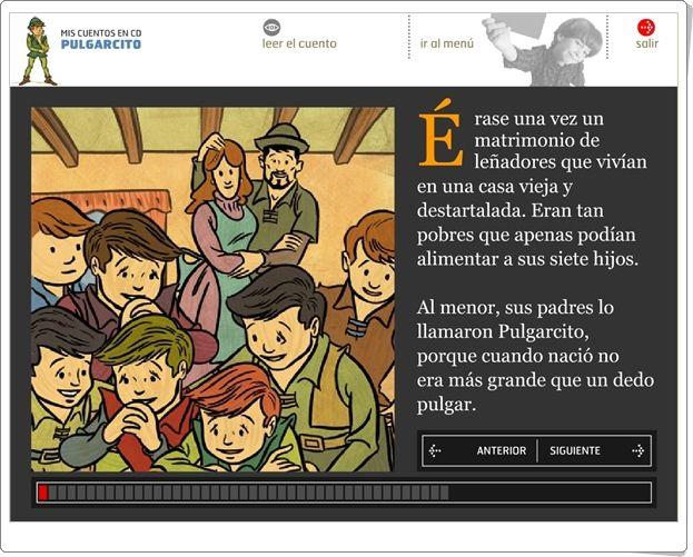 """""""Pulgarcito"""" (Cuento audiovisual)"""