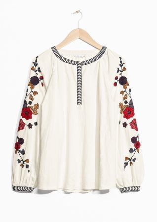 & Other Stories | Embroidery Blouse