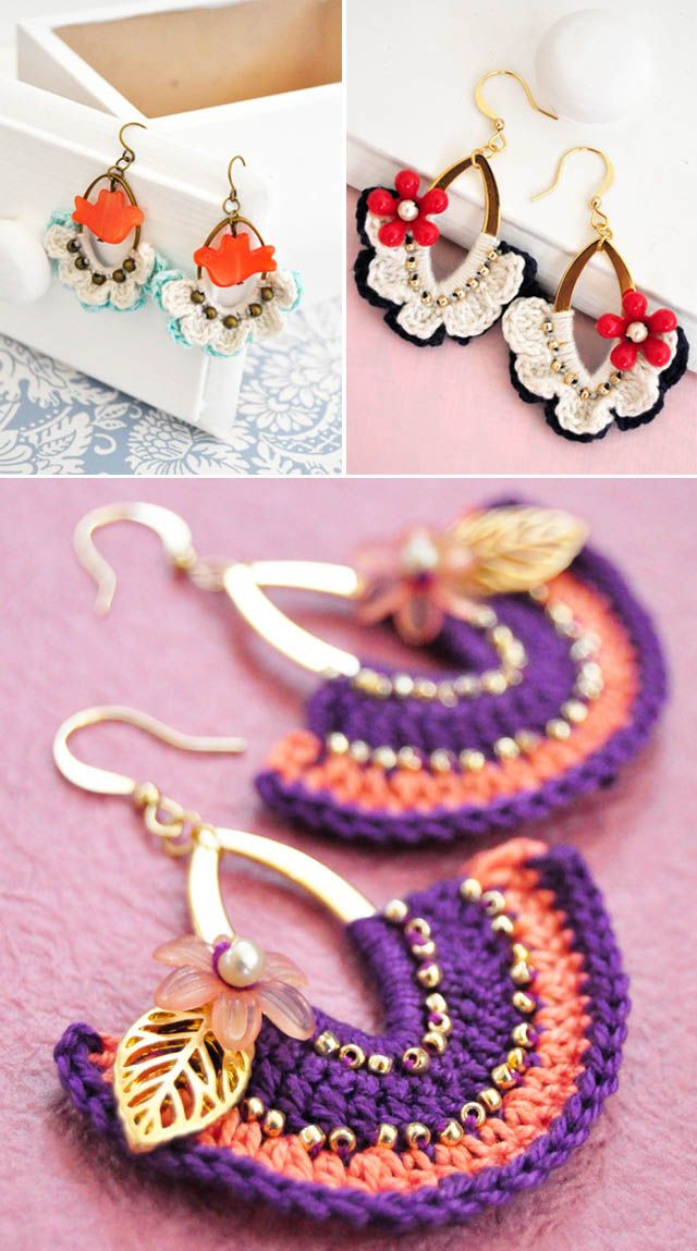 Crochet earring inspiration