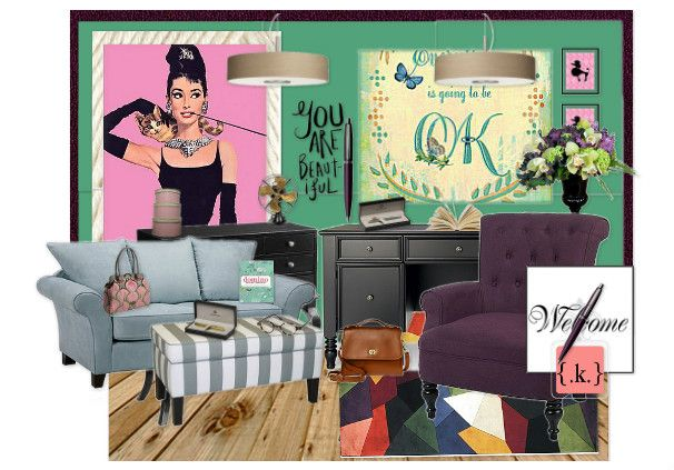 *a ladys home office