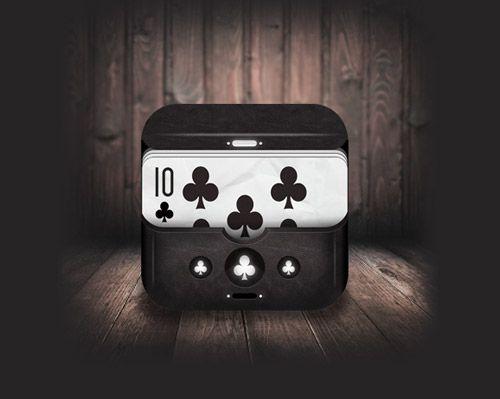 Poker Club iOS Icon   #Poker #ios #icon #cool