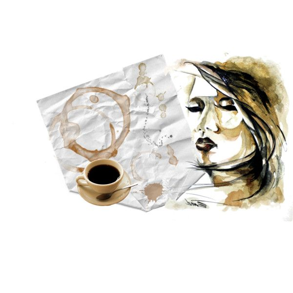 """""""coffee stains"""" by diaparsons on Polyvore"""