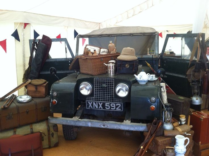 Purdey stand at the CLA Game Fair yesterday - Love it.