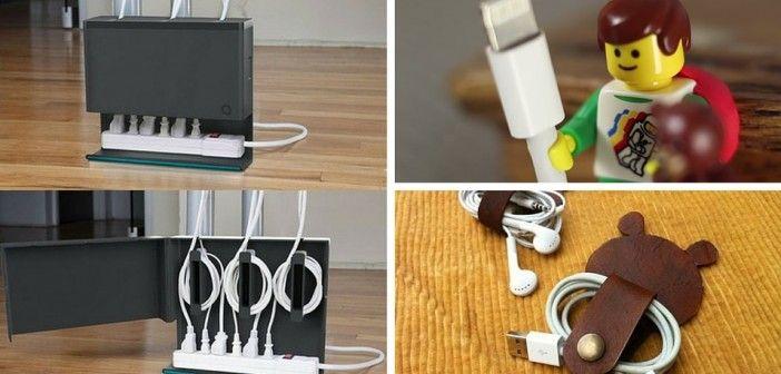 8 originele manieren om je kabels weg te werken